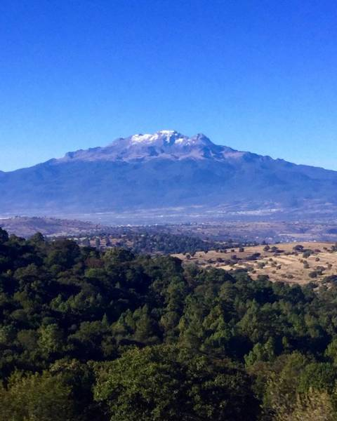 Wall Art - Photograph - Iztaccihuatl Mountain by Luis RC