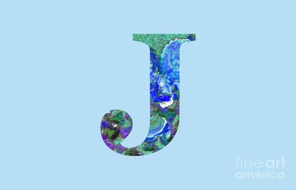 Digital Art - J 2019 Collection by Corinne Carroll