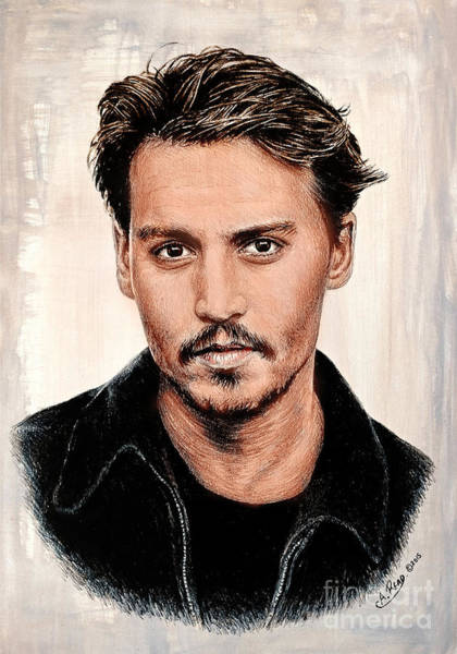 Wall Art - Painting - J Depp Color Ver by Andrew Read