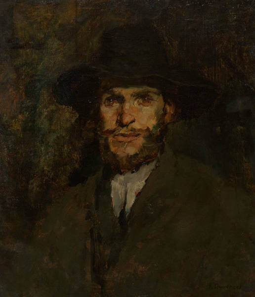 Painting - J. Frank Currier by Frank Duveneck