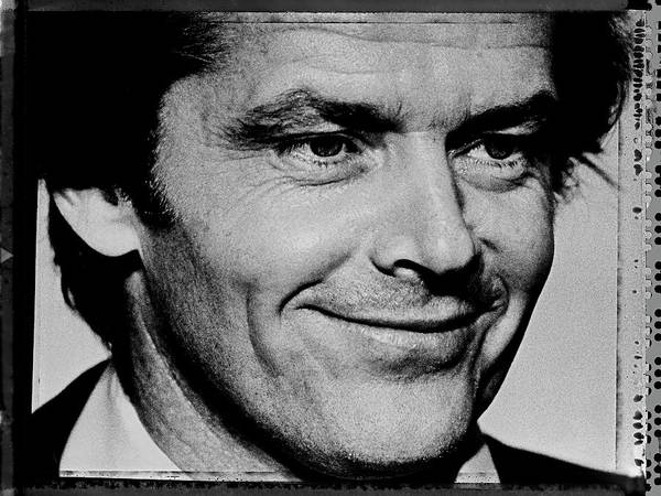 Photograph - Jack Nicholson Attends Academy Awards by George Rose