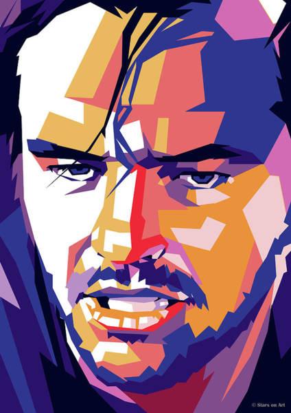 Wall Art - Digital Art - Jack Nicholson by Stars on Art