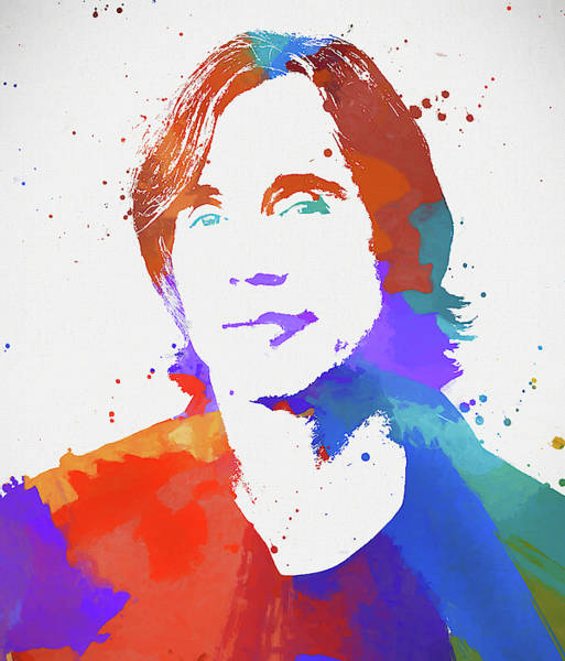 Wall Art - Painting - Jackson Browne by Dan Sproul