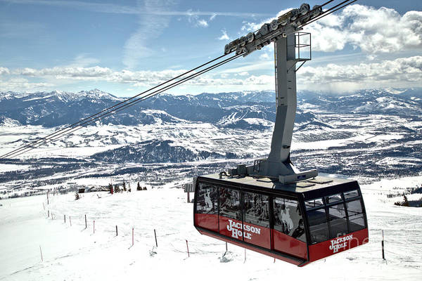 Photograph - Jackson Hole Aerial Tram by Adam Jewell
