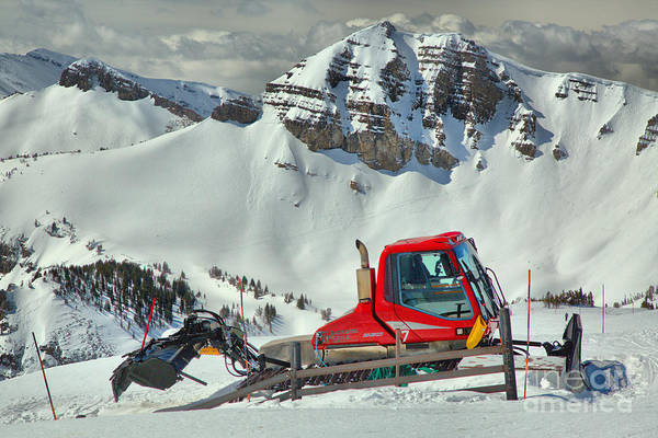 Photograph - Jackson Hole Snow Cat by Adam Jewell