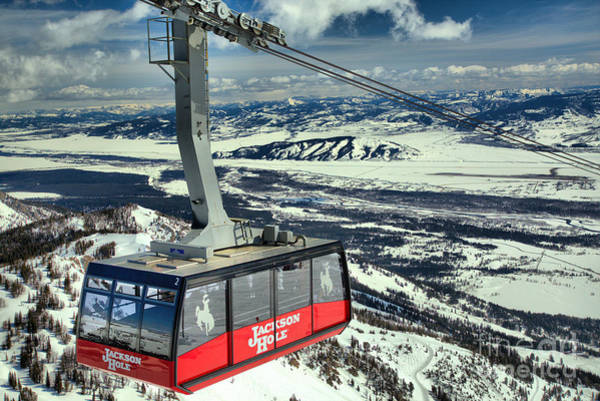 Photograph - Jackson Hole Tram by Adam Jewell