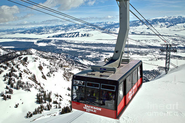 Photograph - Jackson Hole Tram Closeup by Adam Jewell
