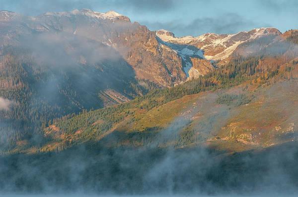 Photograph - Jackson Lake Mist by Matthew Irvin