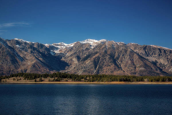 Jackson Lake Wyoming Art Print