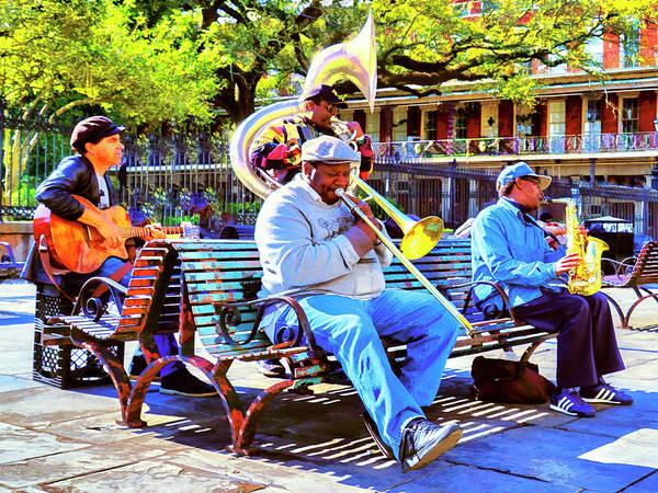 Photograph - Jackson Square Jam by Dominic Piperata