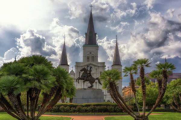 Photograph - Jackson Square by Susan Rissi Tregoning