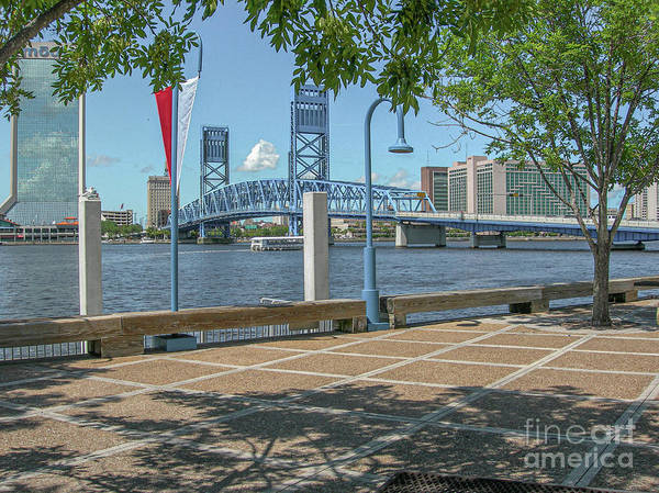 Photograph - Jacksonville Florida River Stroll by Dale Powell