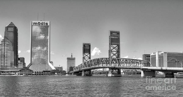 Photograph - Jacksonville Skyline by Dale Powell