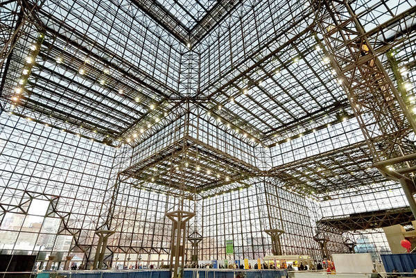 Convention Wall Art - Photograph - Jacob Javits Center Wide View Lookig by Chris Minerva