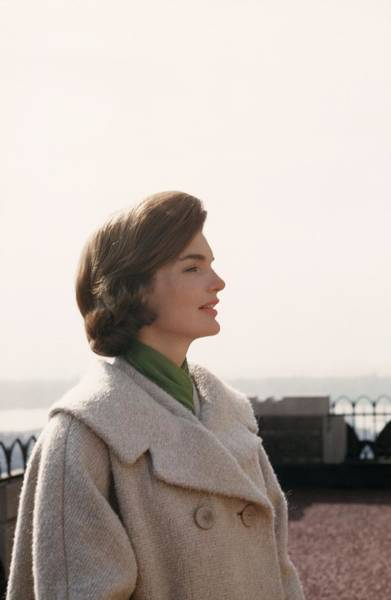 Photograph - Jacqueline Kennedy by Michael Ochs Archives
