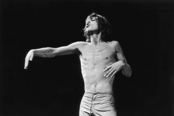 Mick Jagger Photograph - Jagger Gestures by Graham Wood
