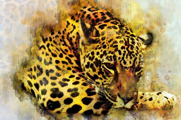 Jaguar Painting - Jaguar 2 by ArtMarketJapan