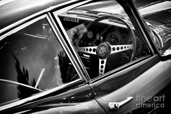 Photograph - Jaguar 3.8l E Type by Tim Gainey