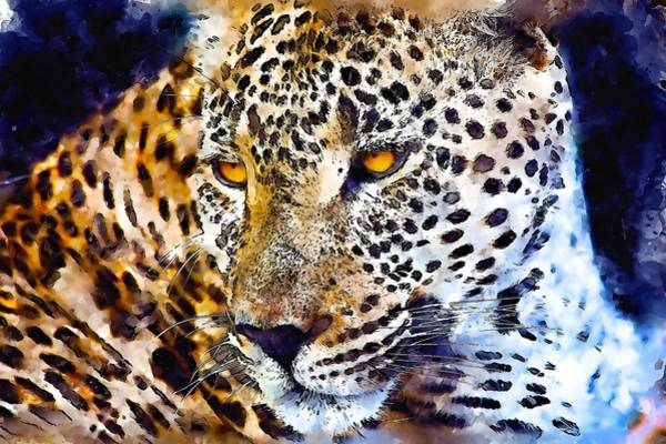 Jaguar Painting - Jaguar by ArtMarketJapan