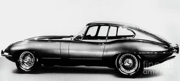 Wall Art - Photograph - Jaguar Car Circa 1961 by Unknown