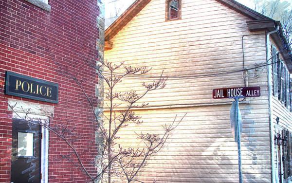 Wall Art - Photograph - Jail House Alley  by Steven Digman