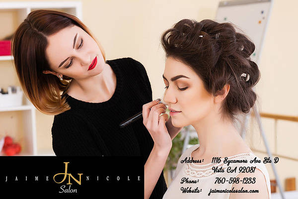 Hair Stylist Mixed Media - Jaime Nicole Hair And Beauty Salon by Jaime Nicole