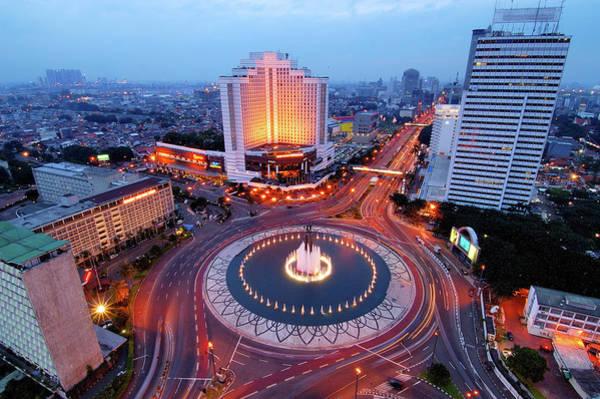 Jakarta Photograph - Jakarta Cityscape by Barry Kusuma