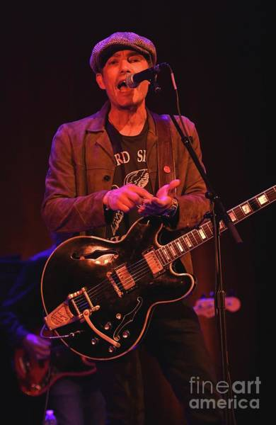 Wall Art - Photograph - Jakob Dylan The Wallflowers by Concert Photos
