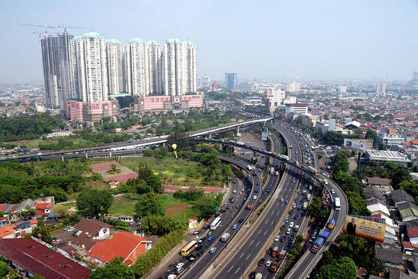 Jakarta Photograph - Jalarta City Center by Shenzhen Harbour