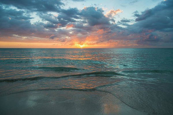 Jamaica Photograph - Jamaica, Sunset Over Sea by Tetra Images