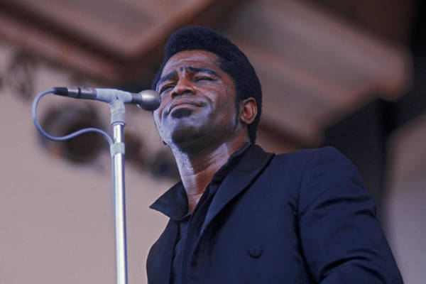 Soul Music Photograph - James Brown At Newport by Hulton Archive