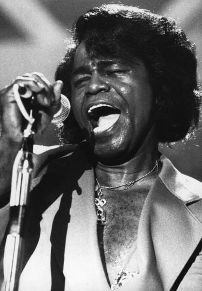 James Brown Photograph - James Brown by Hulton Archive