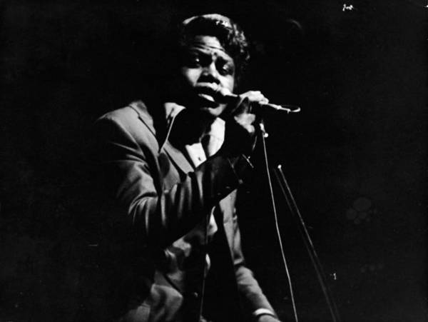 Soul Music Photograph - James Brown Performs On Stage by Hulton Archive