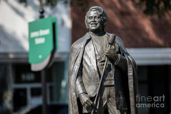 Photograph - James Brown Statue - Augusta Ga by Sanjeev Singhal