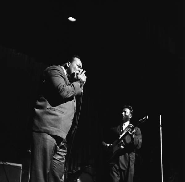 Apollo Theater Photograph - James Cotton At The Apollo by Michael Ochs Archives