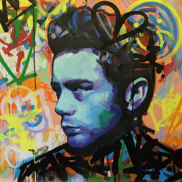 Wall Art - Painting - James Dean by Richard Day