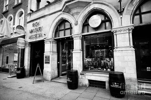 Wall Art - Photograph - james fox cigar and whiskey emporium and the Irish Whiskey museum grafton street Dublin republic of  by Joe Fox