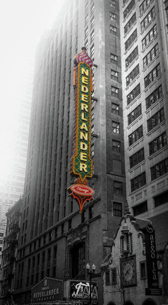 Wall Art - Photograph - James M. Nederlander Theatre by Art Spectrum