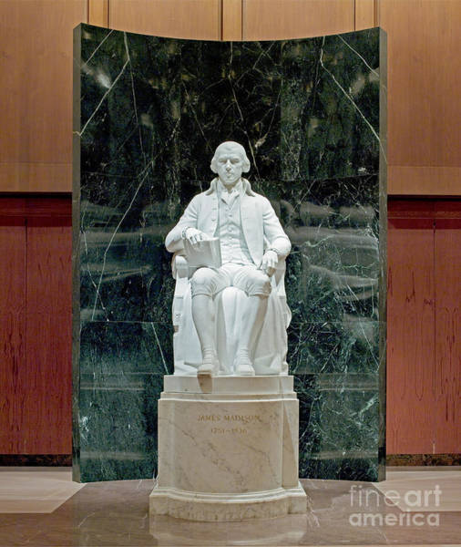 Photograph - James Madison Statue by Carol Highsmith