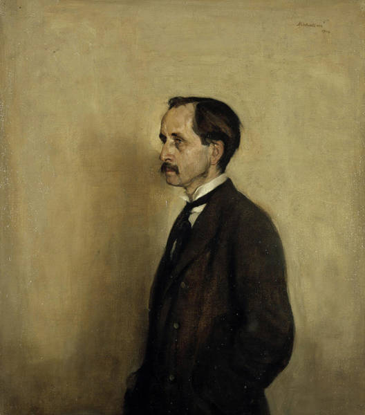 Wall Art - Painting - James Matthew Barrie by William Nicholson