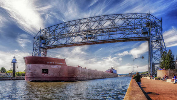Photograph - James R. Barker Leaving Duluth by Susan Rissi Tregoning