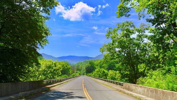 Photograph - James River Bridge, Blue Ridge Parkway, Va. by James Roney