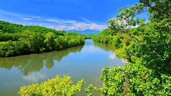 Photograph - James River, From The James River Bridge, Va by The American Shutterbug Society