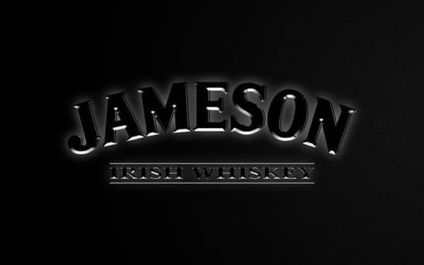 Irish Whiskey Photograph - Jameson Black Edition by Ricky Barnard