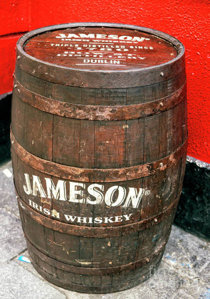 Temple Bar Wall Art - Photograph - Jameson Irish Whiskey Dublin by John Rizzuto