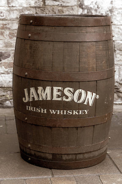 Photograph - Jameson Whiskey Barrel In Dublin by Georgia Fowler