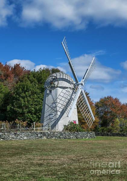 Wall Art - Photograph - Jamestown Windmill by John Greim