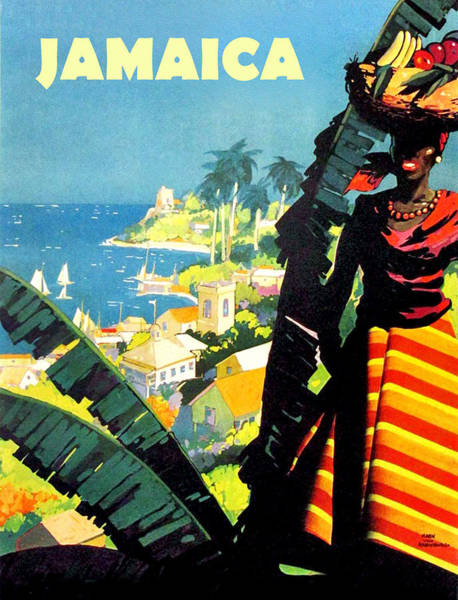 Tropics Digital Art - Jamiaica by Long Shot