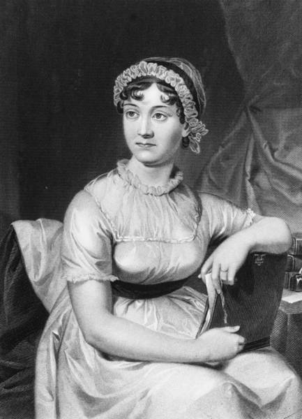 18th Century Digital Art - Jane Austen by Hulton Archive