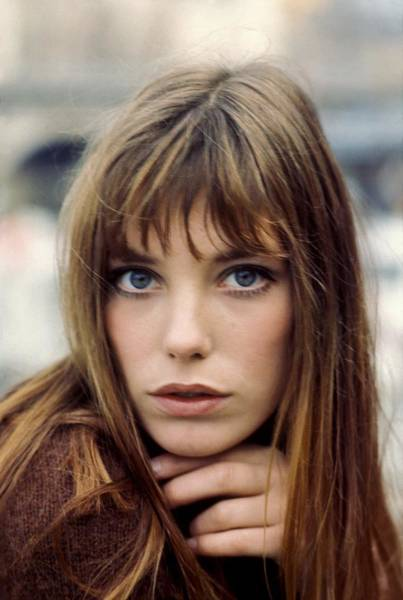 Fashion Model Photograph - Jane Birkin by Reporters Associes
